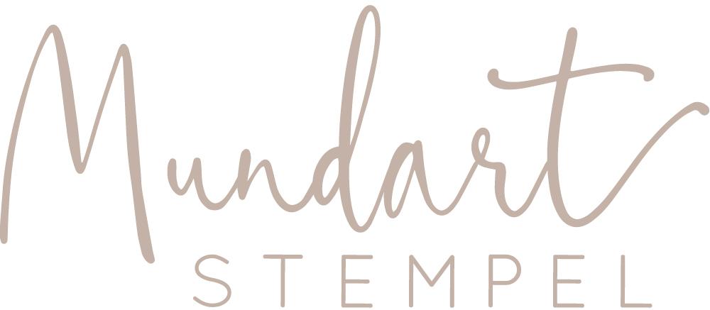 Mundart Stempel-Logo