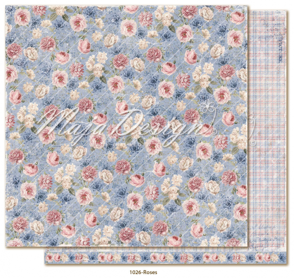 Maja Design Papier Denim & Girls - Roses